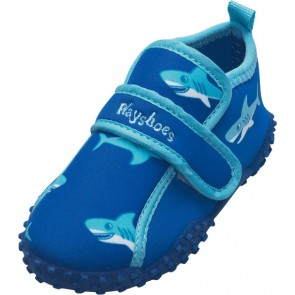 Playshoes -  Badeschuhe Babys, Badesandale Haifisch - Gr. 18-19