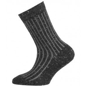 Ewers -  Kindersocken mit Rippstruktur in Tweed-Optik - Gr. 35-38
