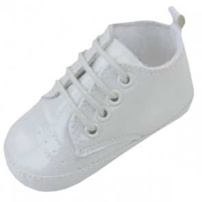 Baby Staab - Baby Taufschuhe Lack, champagner-creme - Gr. 20