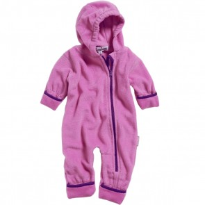 Playshoes - Baby Overall mit Kapuze, warmer Fleece - Gr. 62